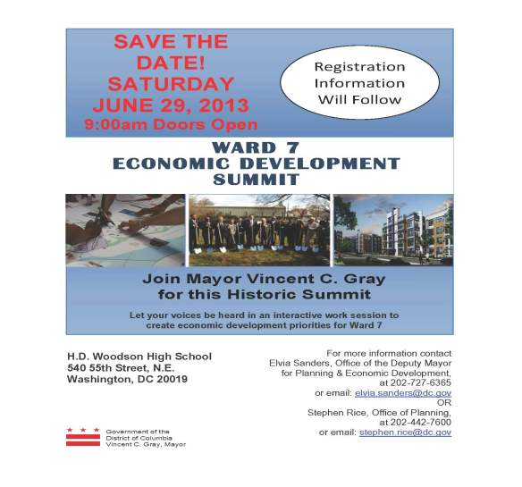 Ward 7 Economic Development Summit