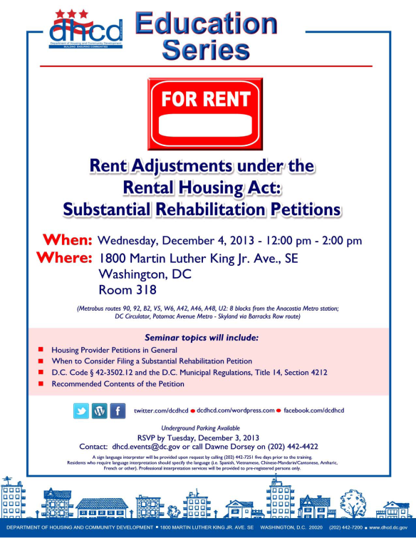Rent Adjustments under the Rent[1]