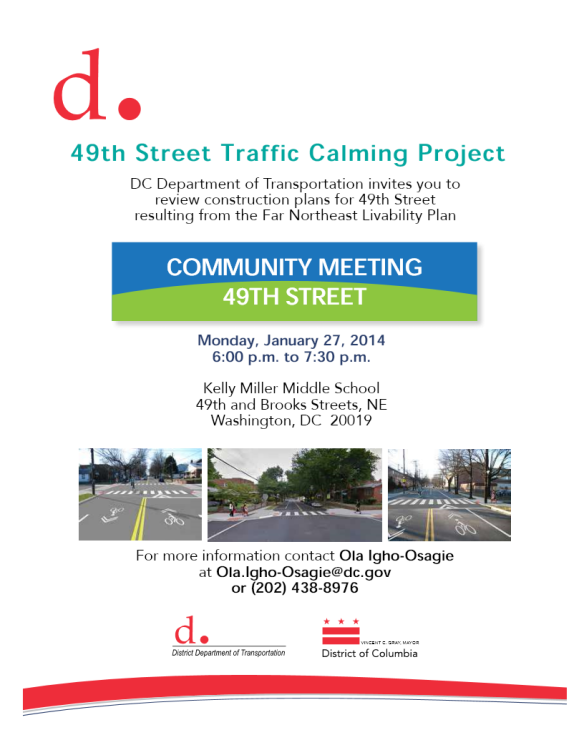49th ST traffic calming Project