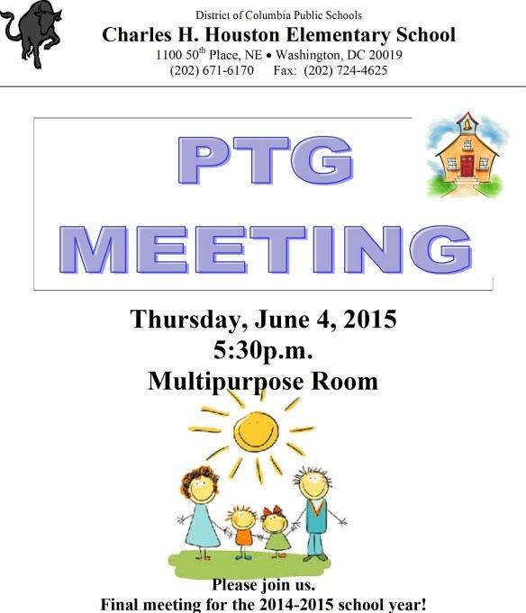 June PTG Flyer