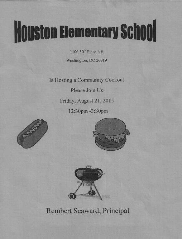 HoustonES Community Cookout